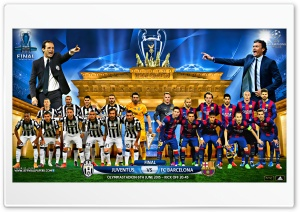 JUVENTUS - FC BARCELONA CHAMPIONS LEAGUE FINAL 2015 HD Wide Wallpaper for 4K UHD Widescreen desktop & smartphone