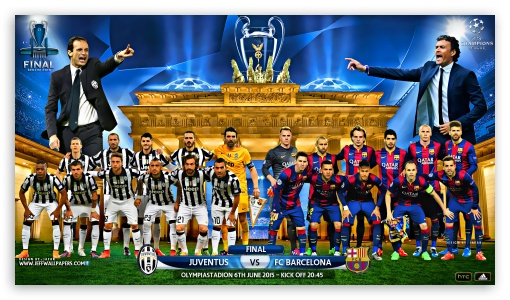 JUVENTUS - FC BARCELONA CHAMPIONS LEAGUE FINAL 2015 ❤ 4K UHD Wallpaper for 4K UHD 16:9 Ultra High Definition 2160p 1440p 1080p 900p 720p ; Mobile 16:9 - 2160p 1440p 1080p 900p 720p ;