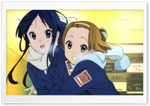 K ON! Mio And Yui HD Wide Wallpaper for 4K UHD Widescreen desktop & smartphone