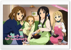 K ON! Ritsu, Mio, Tsumugi And Yui HD Wide Wallpaper for Widescreen