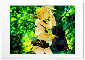 Kagamine HD Wide Wallpaper for Widescreen