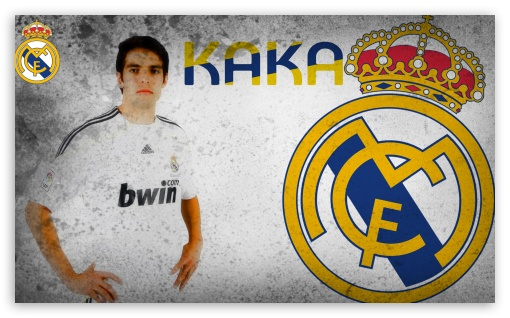 Kaka Real Madrid HD wallpaper for Wide 5:3 Widescreen WGA ; HD 16:9 High Definition WQHD QWXGA 1080p 900p 720p QHD nHD ; Mobile 5:3 16:9 - WGA WQHD QWXGA 1080p 900p 720p QHD nHD ;