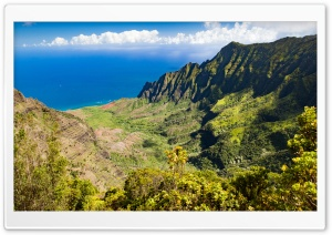 Kalalau Valley, Kauai Island, Hawaiian Islands HD Wide Wallpaper for 4K UHD Widescreen desktop & smartphone