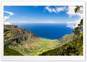 Kalalau Valley Panoramic View, Kauai, Hawaii Ultra HD Wallpaper for 4K UHD Widescreen desktop, tablet & smartphone