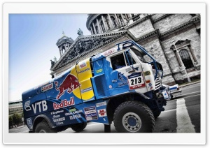 Kamaz Truck Rally HD Wide Wallpaper for Widescreen