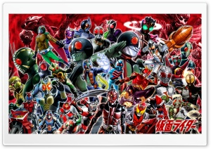 Kamen Rider HD Wide Wallpaper for Widescreen