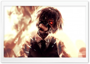 Kaneki Mask HD Wide Wallpaper for Widescreen