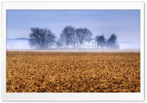 Kansas Farmhouse HD Wide Wallpaper for Widescreen