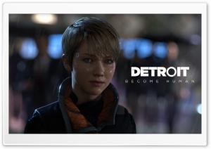 Kara Detroit Become Human HD Wide Wallpaper for Widescreen