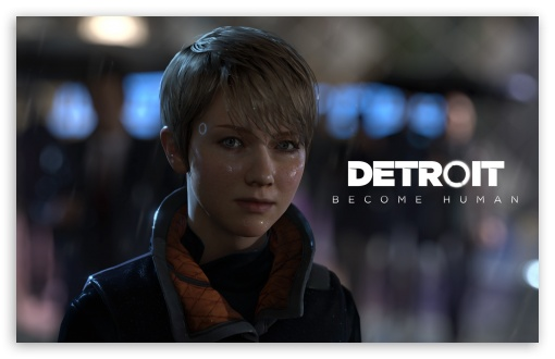 Kara Detroit Become Human 4K HD Desktop Wallpaper For 4K
