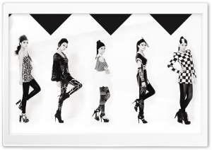 Kara Jumping Korean HD Wide Wallpaper for Widescreen
