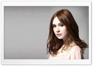 Karen Gillan HD Wide Wallpaper for Widescreen