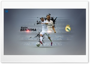Karim Benzema 4k HD Wide Wallpaper for Widescreen