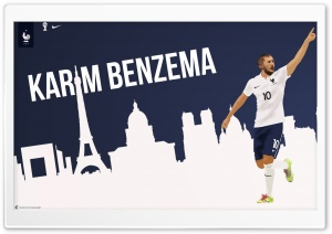 Karim Benzema France Worldcup HD Wide Wallpaper for Widescreen
