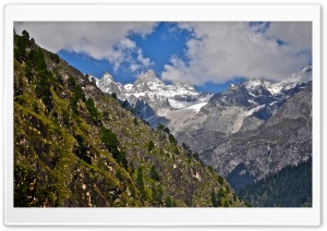Kasol Hills (India) HD Wide Wallpaper for Widescreen