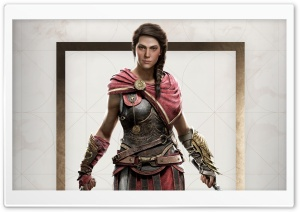 Kassandra in Assassins Creed Odyssey HD Wide Wallpaper for 4K UHD Widescreen desktop & smartphone