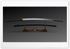 Katana HD Wide Wallpaper for Widescreen