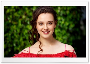 Katherine Langford Beautiful 2017 HD Wide Wallpaper for Widescreen