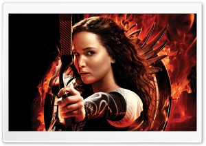 Katniss Everdeen HD Wide Wallpaper for Widescreen