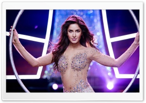 Katrina Kaif in Dhoom 3 HD Wide Wallpaper for Widescreen