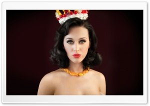 Katy Perry Queen HD Wide Wallpaper for Widescreen
