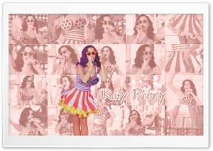 Katy Perry Retro Style HD Wide Wallpaper for Widescreen