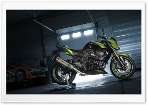 Kawasaki Akrapovic HD Wide Wallpaper for 4K UHD Widescreen desktop & smartphone