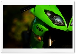Kawasaki Ninja HD Wide Wallpaper for Widescreen