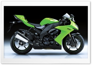 Kawasaki Ninja ZX 10R 1 Ultra HD Wallpaper for 4K UHD Widescreen desktop, tablet & smartphone