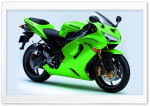 Kawasaki Ninja ZX 6RR HD Wide Wallpaper for Widescreen