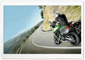 Kawasaki Ride HD Wide Wallpaper for Widescreen