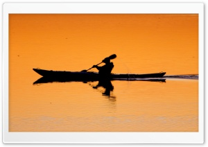Kayaking HD Wide Wallpaper for Widescreen