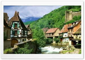 Kaysersberg, France HD Wide Wallpaper for Widescreen