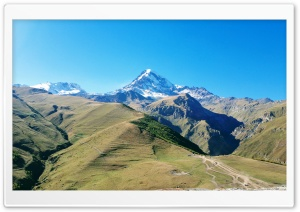 KAZBEGI Mountain, Georgia Ultra HD Wallpaper for 4K UHD Widescreen desktop, tablet & smartphone