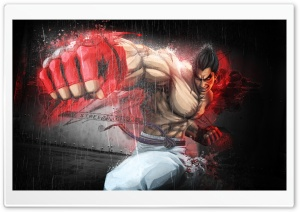 KAZUYA MISHIMA IN TEKKEN HD Wide Wallpaper for Widescreen