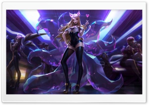 KDA Ahri HD Wide Wallpaper for 4K UHD Widescreen desktop & smartphone