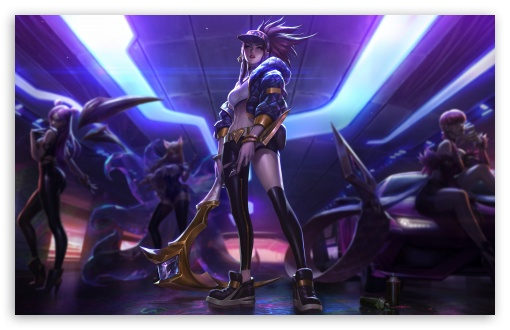 Download Kda Akali UltraHD Wallpaper