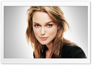 Keira Knightley Portrait HD Wide Wallpaper for Widescreen