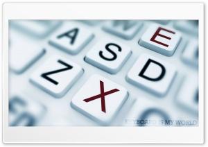 Keyboard is my world Ultra HD Wallpaper for 4K UHD Widescreen desktop, tablet & smartphone
