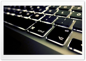 Keyboard Lighted Buttons HD Wide Wallpaper for Widescreen
