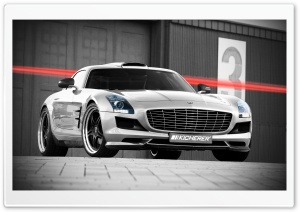 Kicherer Mercedes Benz SLS AMG HD Wide Wallpaper for Widescreen