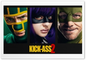 Kick-Ass 2 2013 Movie HD Wide Wallpaper for Widescreen