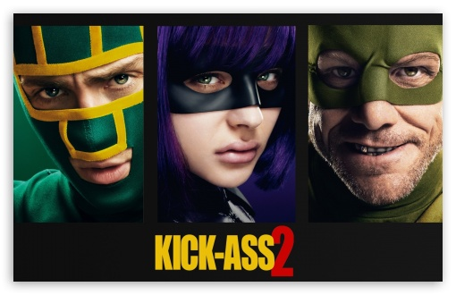 Kick-Ass 2 2013 Movie HD wallpaper for Wide 16:10 5:3 Widescreen WHXGA WQXGA WUXGA WXGA WGA ; HD 16:9 High Definition WQHD QWXGA 1080p 900p 720p QHD nHD ; Mobile 5:3 16:9 - WGA WQHD QWXGA 1080p 900p 720p QHD nHD ;