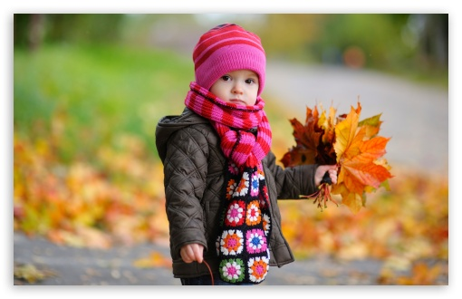 Kid With Yellow Leaves HD wallpaper for Wide 16:10 5:3 Widescreen WHXGA WQXGA WUXGA WXGA WGA ; HD 16:9 High Definition WQHD QWXGA 1080p 900p 720p QHD nHD ; UHD 16:9 WQHD QWXGA 1080p 900p 720p QHD nHD ; Standard 4:3 5:4 3:2 Fullscreen UXGA XGA SVGA QSXGA SXGA DVGA HVGA HQVGA devices ( Apple PowerBook G4 iPhone 4 3G 3GS iPod Touch ) ; Tablet 1:1 ; iPad 1/2/Mini ; Mobile 4:3 5:3 3:2 16:9 5:4 - UXGA XGA SVGA WGA DVGA HVGA HQVGA devices ( Apple PowerBook G4 iPhone 4 3G 3GS iPod Touch ) WQHD QWXGA 1080p 900p 720p QHD nHD QSXGA SXGA ;