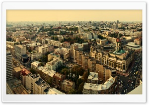 Kiev Panorama HD Wide Wallpaper for Widescreen