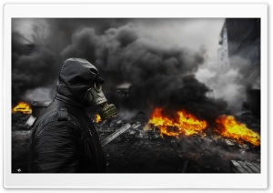 Kiev Revolution HD Wide Wallpaper for Widescreen