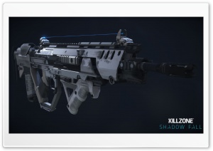 Killzone Shadow Fall 2013 M55 Assault Rifle HD Wide Wallpaper for Widescreen