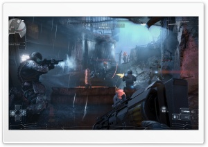 Killzone Shadow Fall 2013 Multiplayer Video Game HD Wide Wallpaper for Widescreen