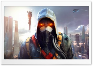 Killzone Shadow Fall - Helghast HD Wide Wallpaper for Widescreen