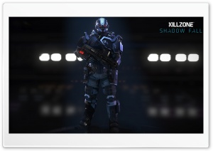 Killzone Shadow Fall - Helghast Infantry HD Wide Wallpaper for 4K UHD Widescreen desktop & smartphone